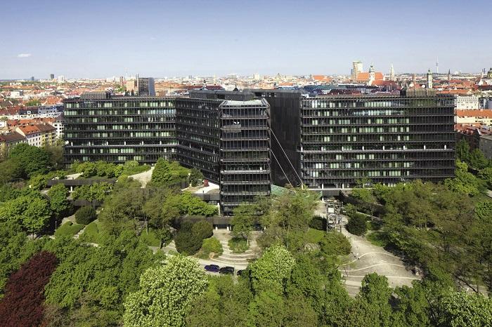 Das europäische Patentamt in München (Foto: epo.org)