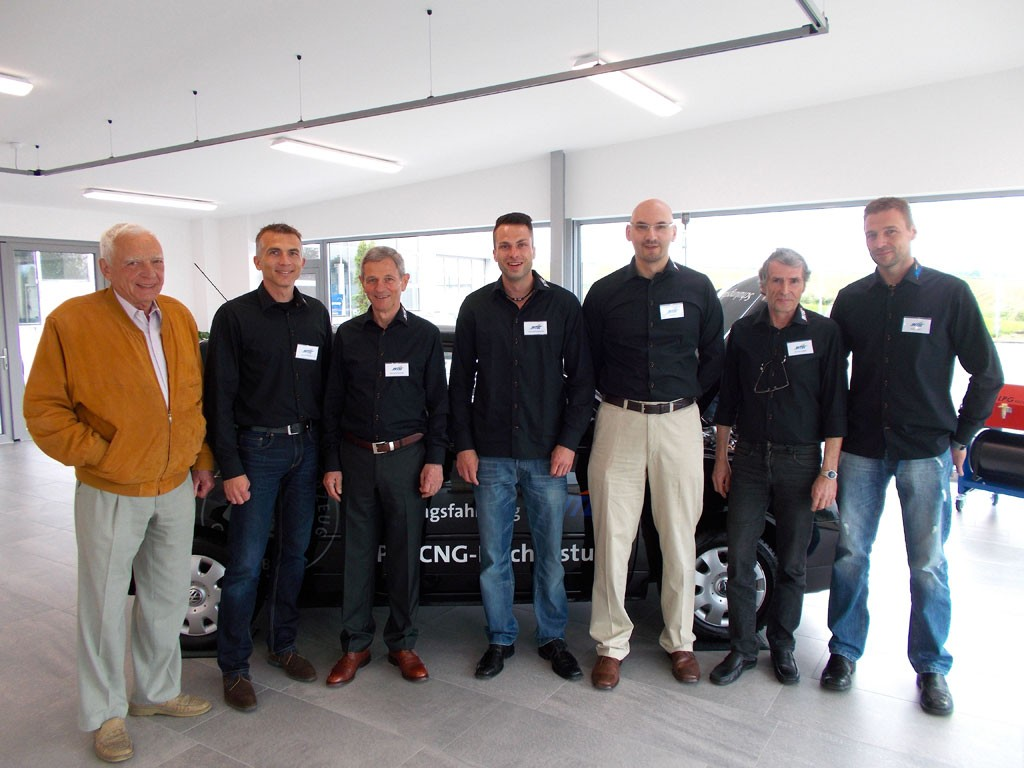 Team der INTEC-Autogas GmbH (Foto: INTEC)