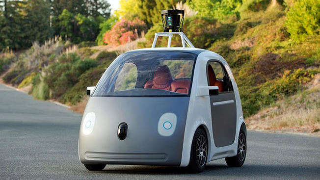 Googles Driverless Car (Foto: Google)